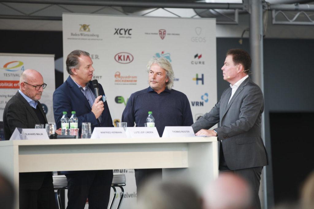 Premiere des e4 TESTIVAL am Hockenheimring