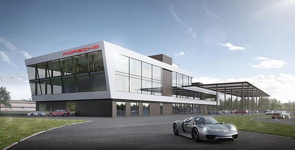 Porsche Experience Center - emodrom