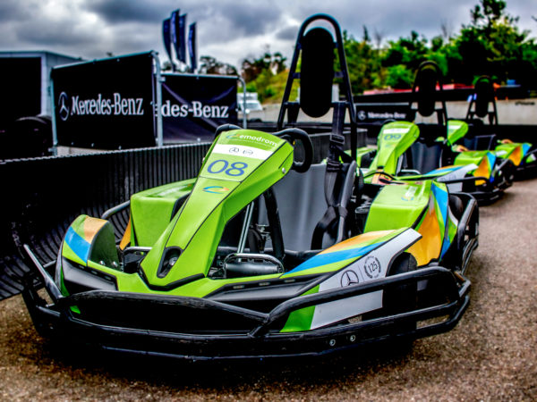 E-kart Ingess At The Hockenheimring