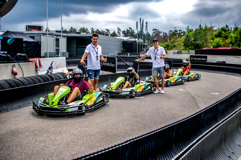 e-Kart fahren am Hockenheimring