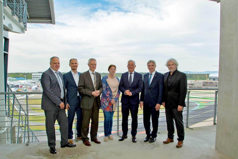 Innenminister Thomas Strobl zu Besuch am Hockenheimring