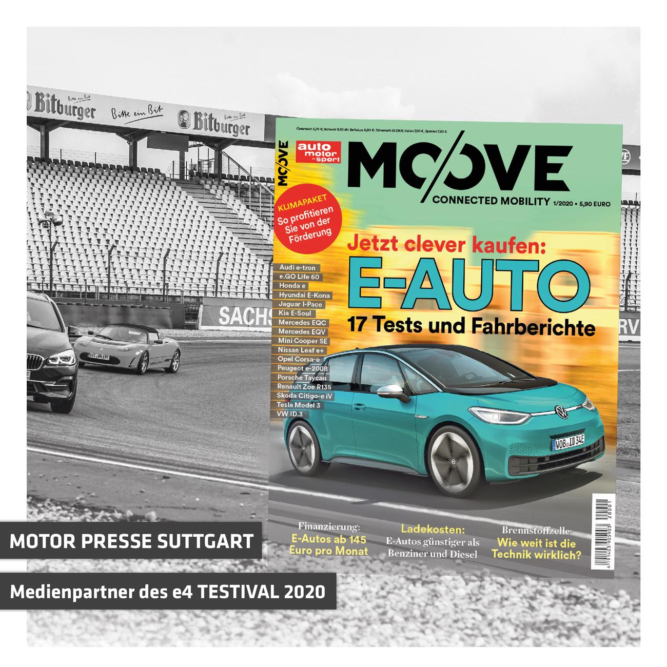 Motor Presse Stuttgart Wird Medienpartner Des E4 TESTIVAL Auf Dem Hockenheimring