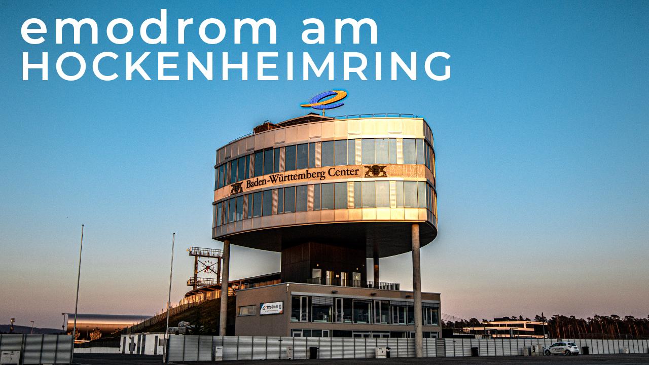 Emodrom Am Hockenheimring #wirbleibenzuhause