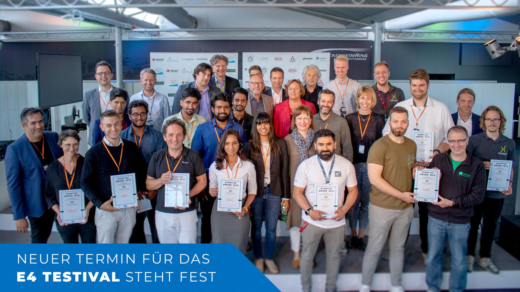 Gewinner Des Startup Awards Vom E4 TESTIVAL